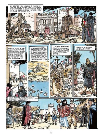 Page 6 L'empereur du dernier jour tome 3 - coeur de lion