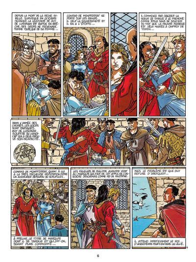 Page 7 L'empereur du dernier jour tome 3 - coeur de lion