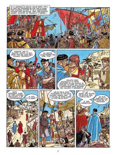Page 8 L'empereur du dernier jour tome 3 - coeur de lion