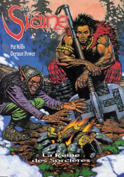 Couverture slaine tome 6 - la reine des sorcières