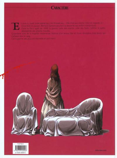 Dos Sambre tome 4 - faut-il que nous mourrions ensemble ?