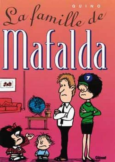 Couverture mafalda tome 7 - la famille de mafalda