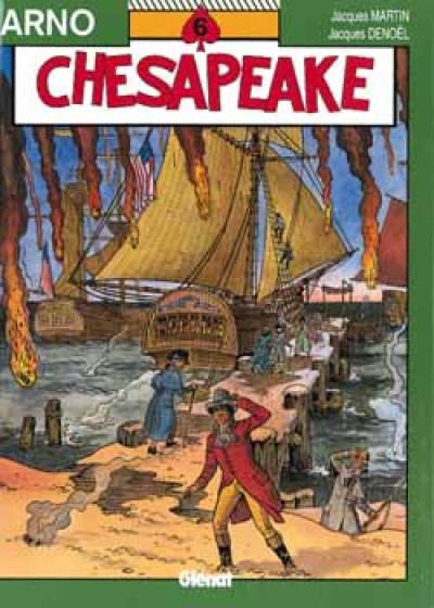 Couverture arno tome 6 - chesapeake