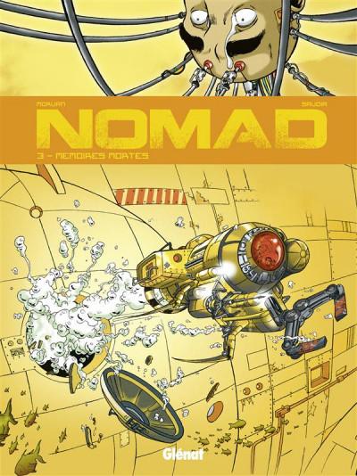 Couverture nomad tome 3 - mémoires mortes