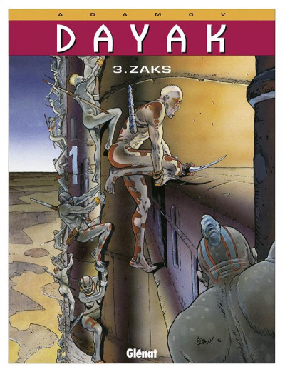Couverture dayak tome 3 - zacks