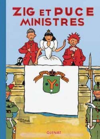 image de zig et puce tome 10 - zig et puce ministres