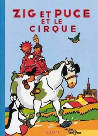 image de zig et puce tome 15 - zig et puce et le cirque