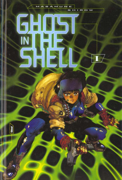 Couverture ghost in the shell tome 1