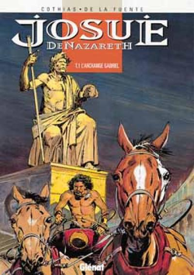 Couverture Le fils de la vierge tome 1 - josue de nazareth
