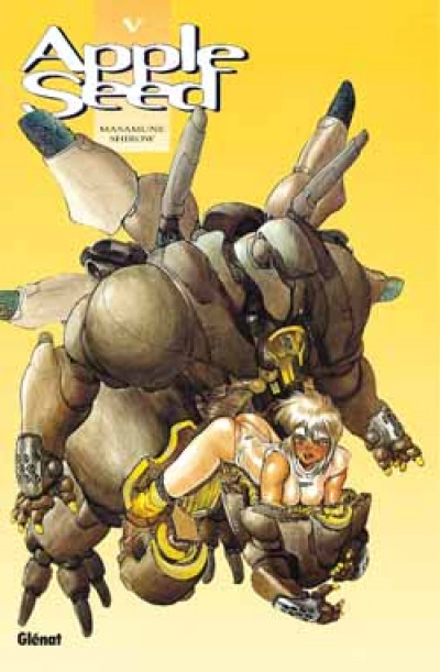 Couverture appleseed tome 5 - databook