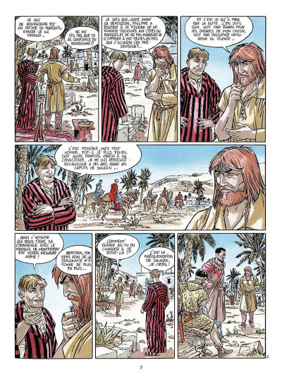 Page 8 empereur du dernier jour tome 4 - la croix et la bannière