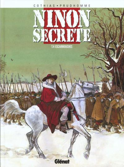 Couverture ninon secrète tome 4 - escarmouches