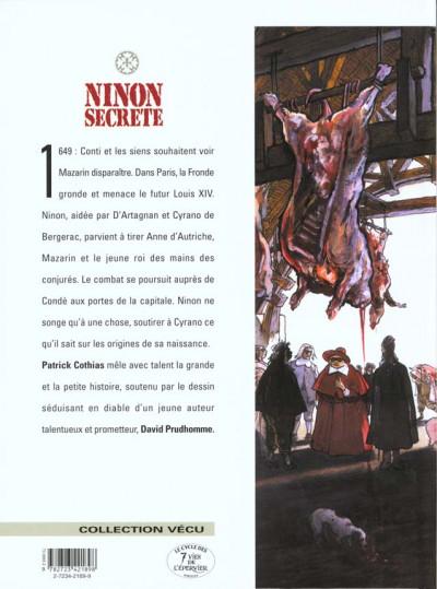 Dos ninon secrète tome 4 - escarmouches