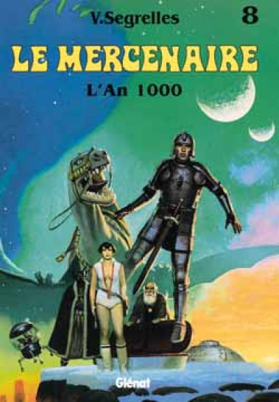 Couverture le mercenaire tome 8 - l'an 1000