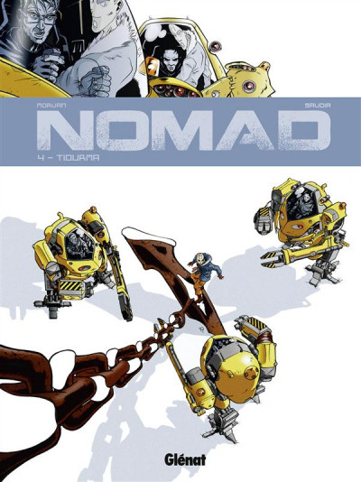 Couverture nomad tome 4 - tiourma