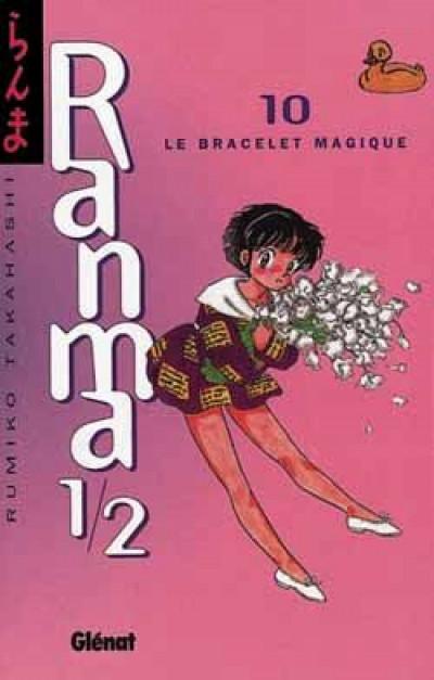 Couverture ranma 1/2 tome 10 - le bracelet magique
