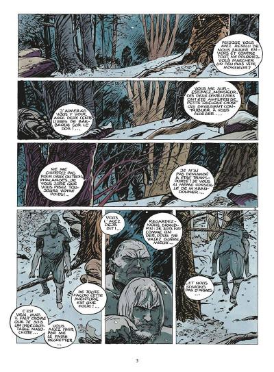 Page 6 coeur brulé tome 5 - le grand blanc