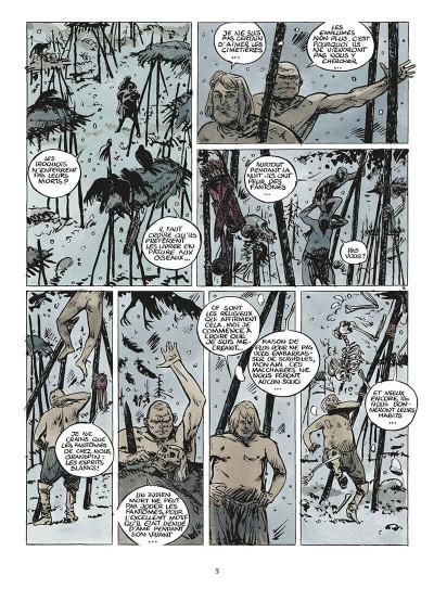 Page 8 coeur brulé tome 5 - le grand blanc