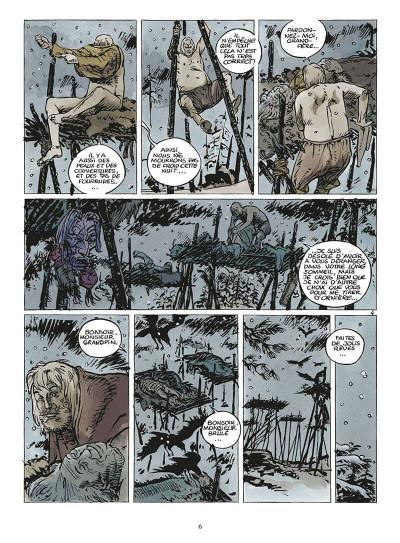 Page 9 coeur brulé tome 5 - le grand blanc