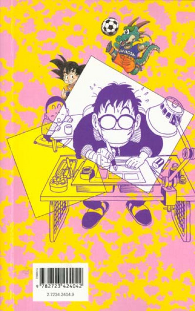 Dos apprenti mangaka ; l'art du manga par l'auteur de dragon ball