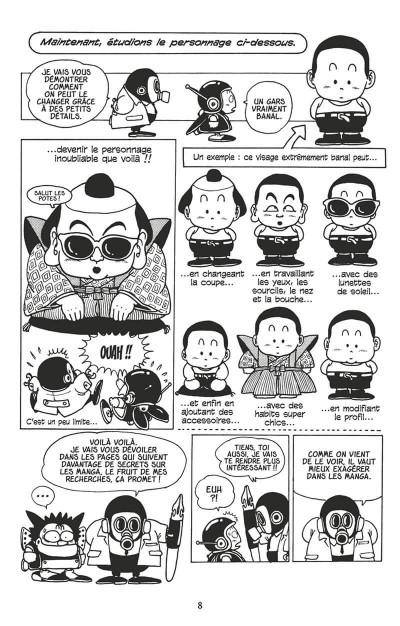 Page 7 apprenti mangaka ; l'art du manga par l'auteur de dragon ball