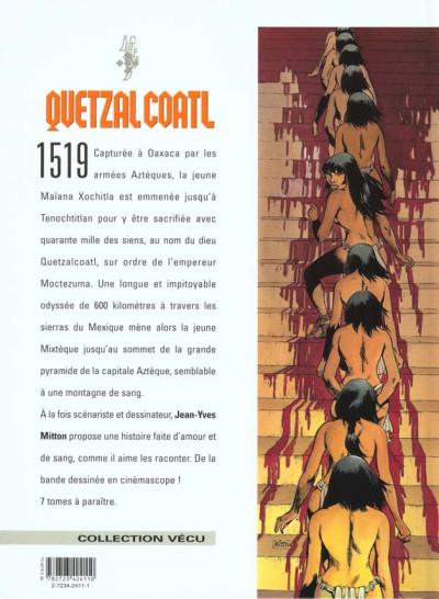 Dos quetzalcoatl tome 2 - la montagne de sang