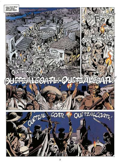 Page 4 quetzalcoatl tome 2 - la montagne de sang