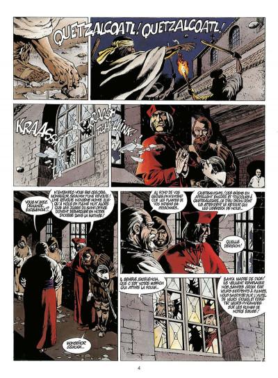 Page 5 quetzalcoatl tome 2 - la montagne de sang