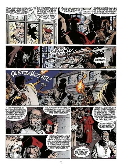 Page 6 quetzalcoatl tome 2 - la montagne de sang