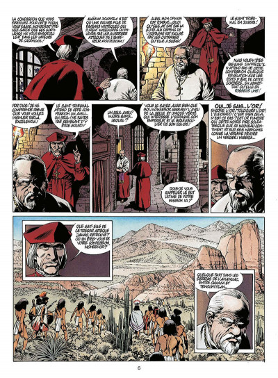 Page 7 quetzalcoatl tome 2 - la montagne de sang