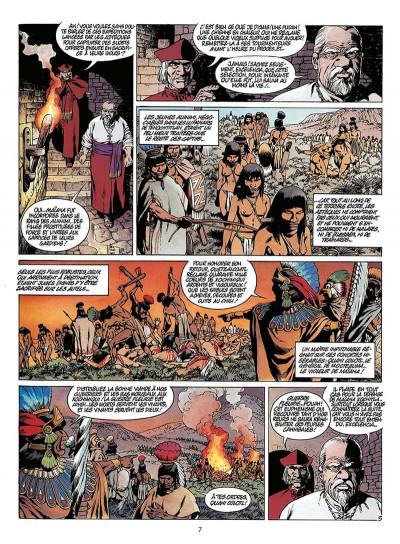 Page 8 quetzalcoatl tome 2 - la montagne de sang