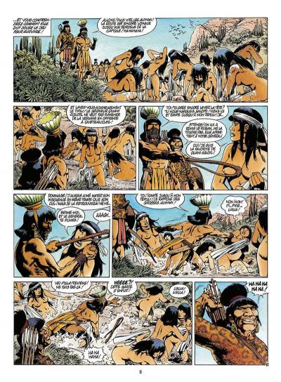 Page 9 quetzalcoatl tome 2 - la montagne de sang