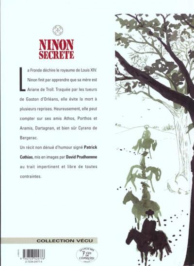 Dos ninon secrète tome 5 - carnages