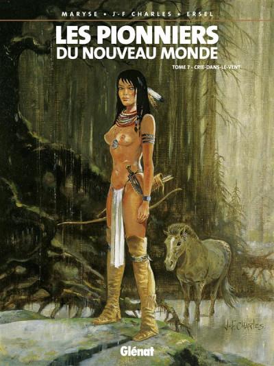 Couverture les pionniers du nouveau monde tome 7 - crie-dans-le-vent