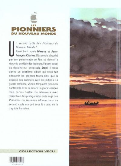 Dos les pionniers du nouveau monde tome 7 - crie-dans-le-vent