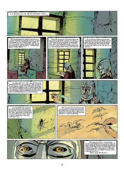 Page 6 le masque de fer tome 1 - le temps des comédiens