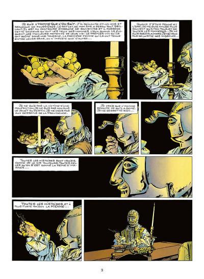 Page 6 le masque de fer tome 2 - qui vengera barrabas ?