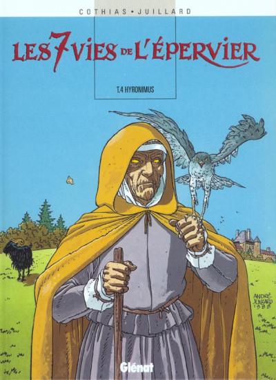 Couverture Les 7 vies de l'epervier tome 4 - hydronimus