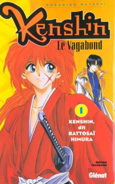 Couverture kenshin le vagabond tome 1 - kenshin dit battosai himura