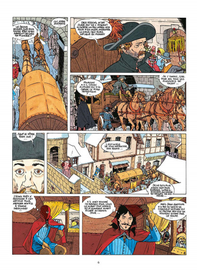 Page 9 Le fou du roy tome 6