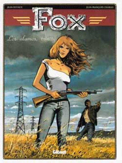 Couverture fox tome 7 - los alamos trinity