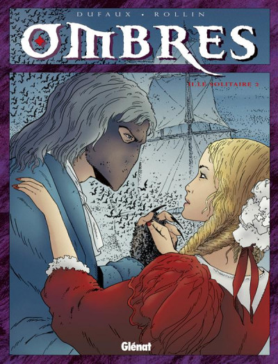 Couverture ombres tome 2 - le solitaire 2