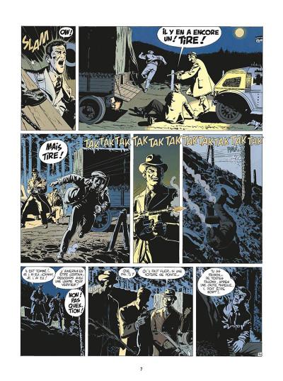 Page 0 de silence et de sang tome 3 - dix années de folie