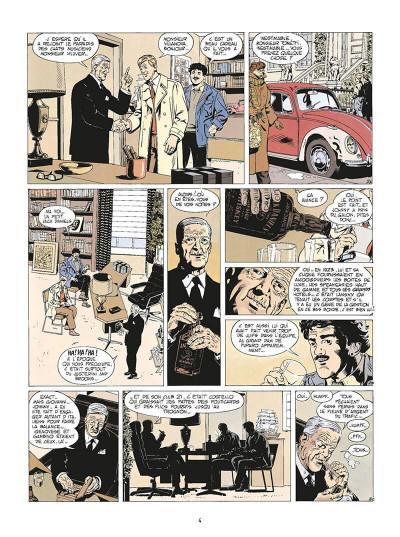 Page 7 de silence et de sang tome 3 - dix années de folie