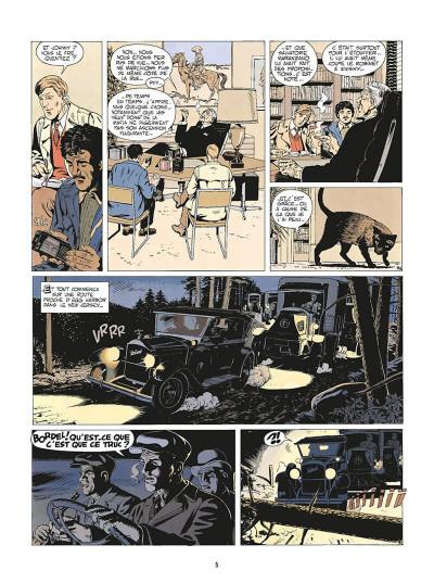 Page 8 de silence et de sang tome 3 - dix années de folie