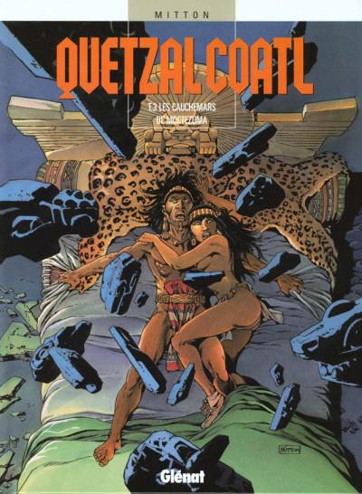 Couverture Quetzalcoatl tome 3 - Les cauchemars de moctezuma