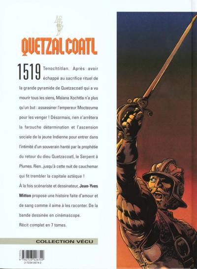 Dos Quetzalcoatl tome 3 - Les cauchemars de moctezuma