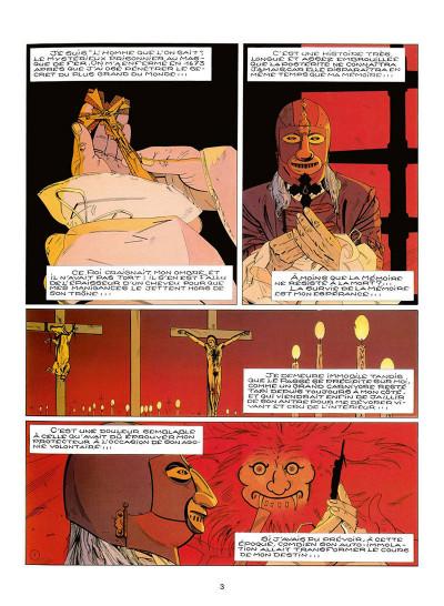 Page 6 le masque de fer tome 5 - le secret de mazarin