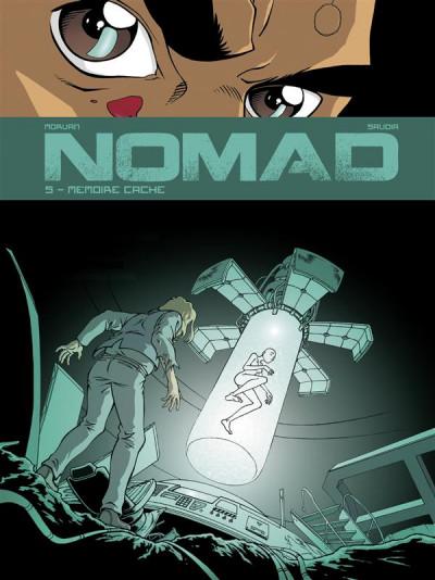 Couverture nomad tome 5 - mémoire cachee