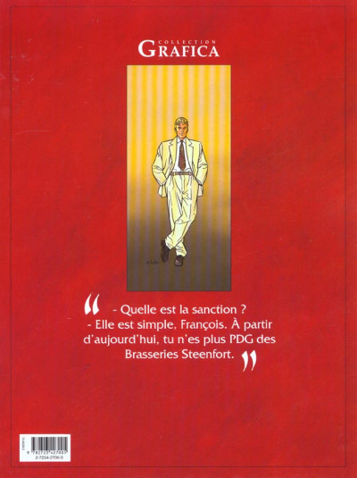 Dos les maitres de l'orge tome 7 - frank 1997
